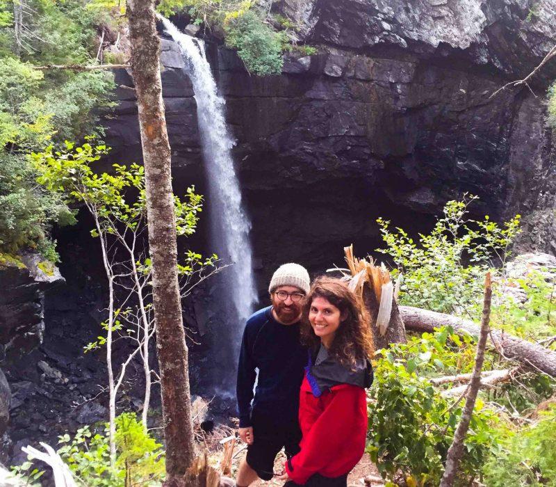 Couple at sinkhole LQ